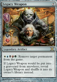 Legacy Weapon - 10th Edition