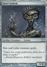 Steel Golem - 10th Edition