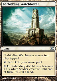 Forbidding Watchtower - 10th Edition