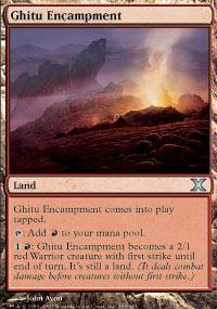 Ghitu Encampment - 10th Edition