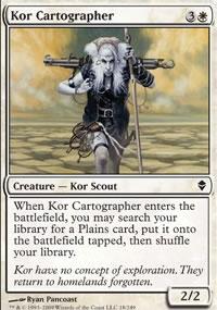 Kor Cartographer - Zendikar