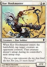 Kor Hookmaster - Zendikar