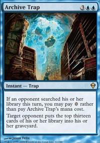 Archive Trap - Zendikar