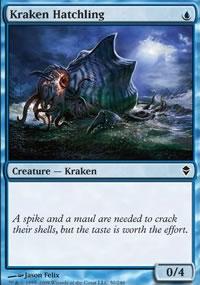 Kraken Hatchling - Zendikar