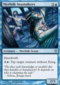 Merfolk Seastalkers - Zendikar