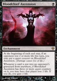 Bloodchief Ascension - Zendikar
