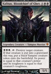 Kalitas, Bloodchief of Ghet - Zendikar