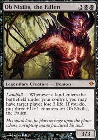 Ob Nixilis, the Fallen - Zendikar