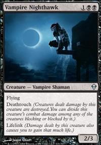 Vampire Nighthawk - Zendikar