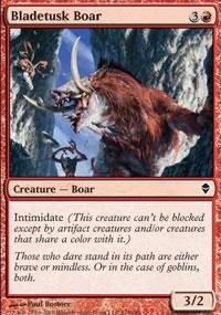 Bladetusk Boar - Zendikar