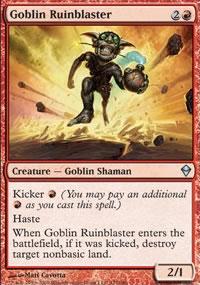 Goblin Ruinblaster - Zendikar