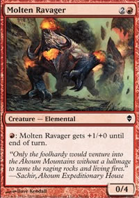 Molten Ravager - Zendikar