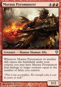 Murasa Pyromancer - Zendikar