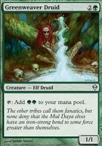 Greenweaver Druid - Zendikar