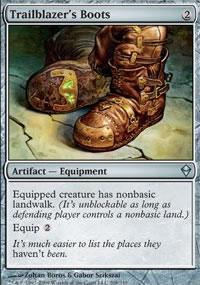 Trailblazer's Boots - Zendikar