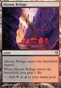 Akoum Refuge - Zendikar