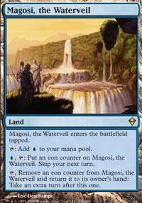 Magosi, the Waterveil - Zendikar