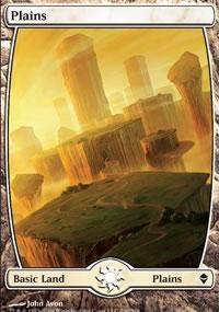Plains 1 - Zendikar