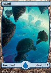Island 1 - Zendikar