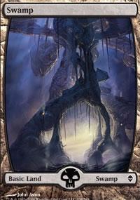 Swamp 1 - Zendikar