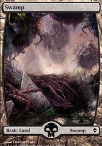 Swamp 7 - Zendikar