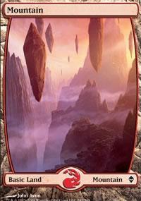 Mountain 1 - Zendikar