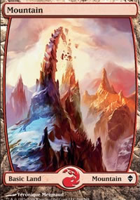 Mountain 5 - Zendikar