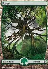 Forest 7 - Zendikar