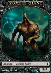 Zombie Giant - Zendikar