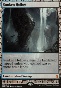Sunken Hollow - Zendikar Expeditions