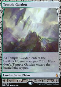 Temple Garden - Zendikar Expeditions