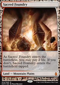 Sacred Foundry - Zendikar Expeditions