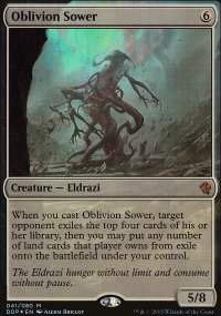 Oblivion Sower - Zendikar vs. Eldrazi